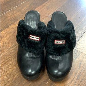 Ugg leather clog.   Size 9